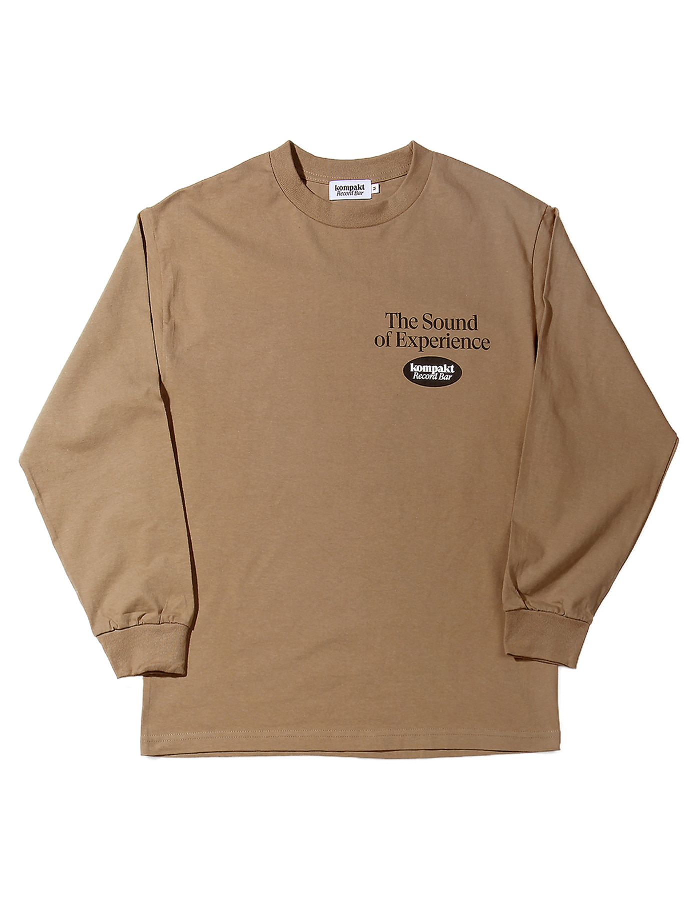 The sound of Experience L/S Brown
