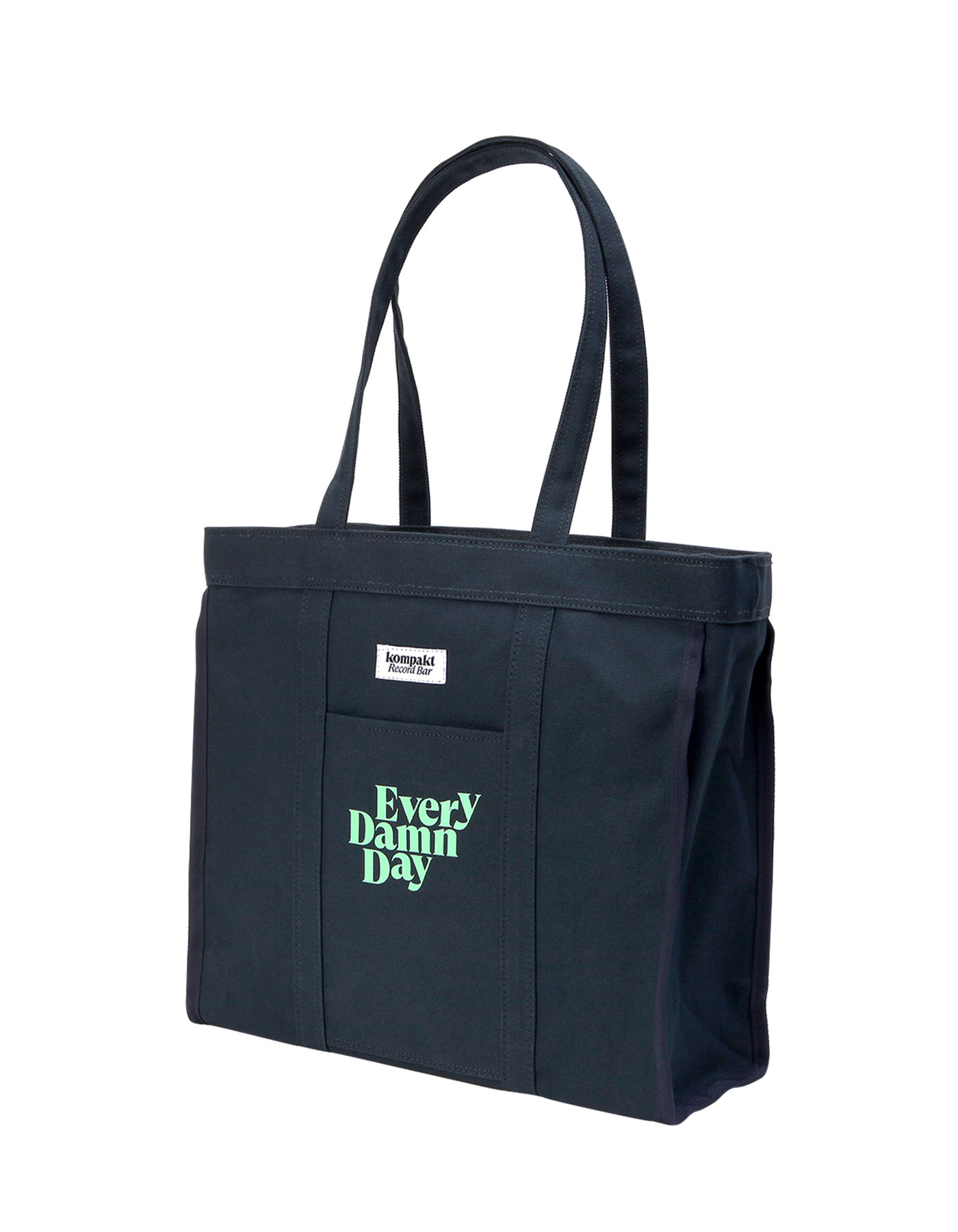 "12"" Record Size Tote bag - Navy"