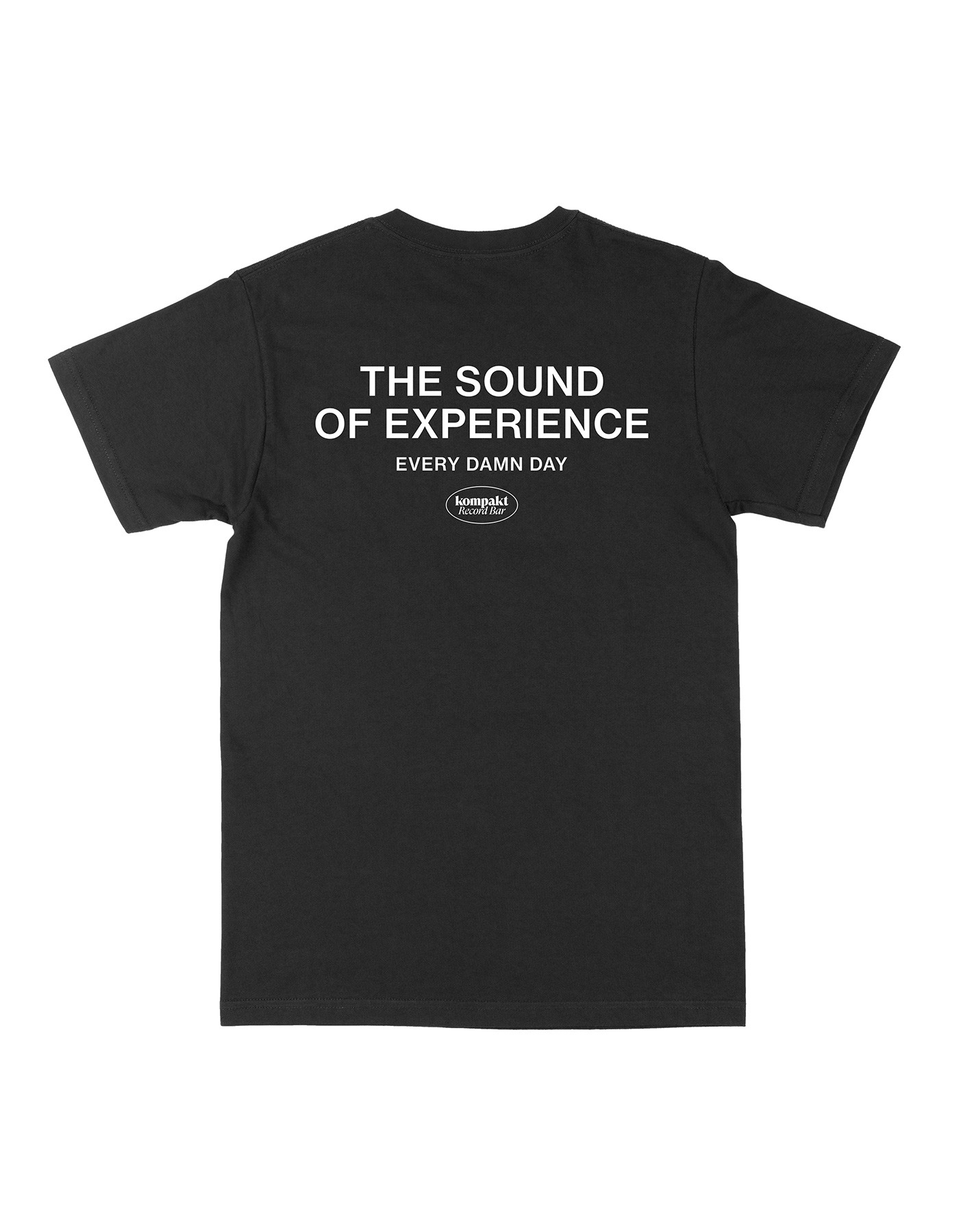 The sound of experience T-shirts - Black/White