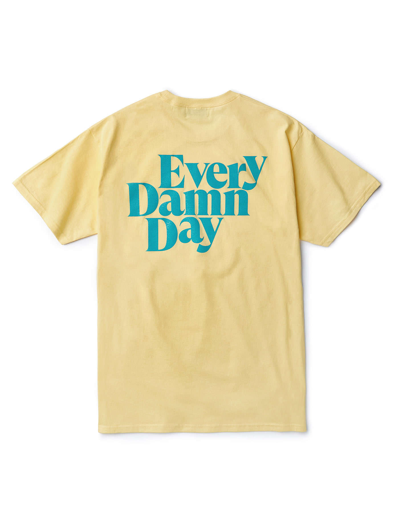 Every Damn Day T-shirts - Banana/Mint