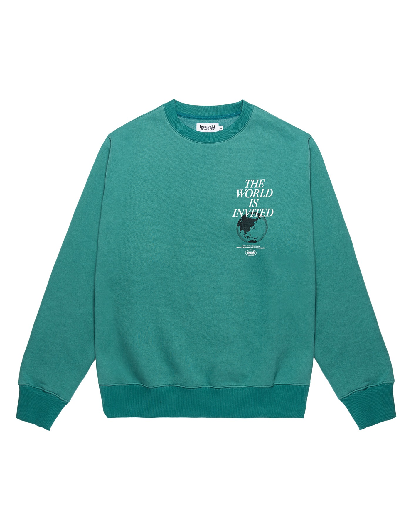 The World Is Invited Crewneck - Green