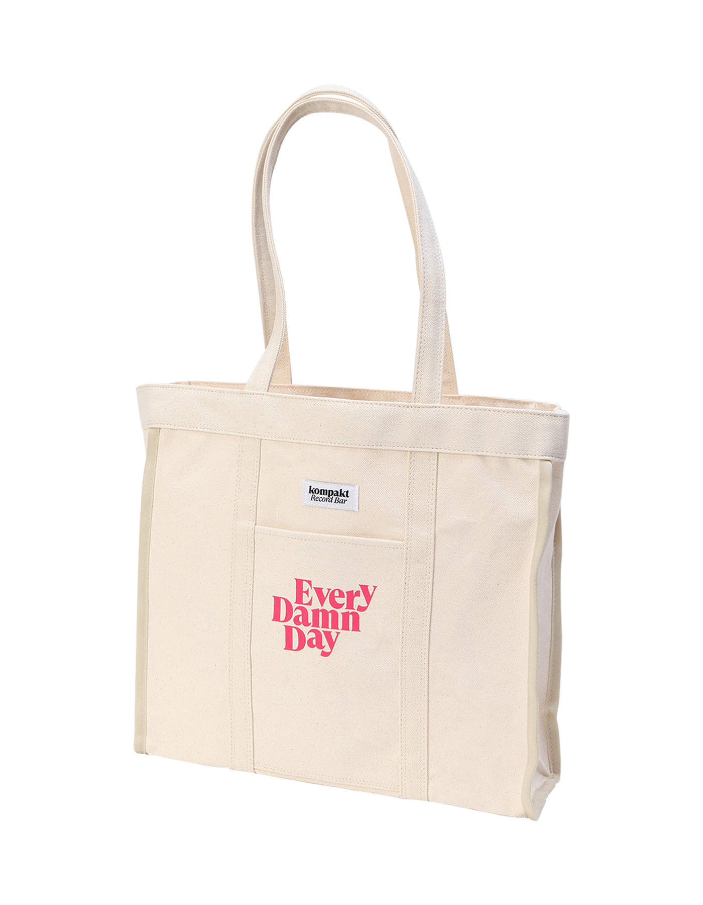 "12"" Record Size Tote bag - Beige"