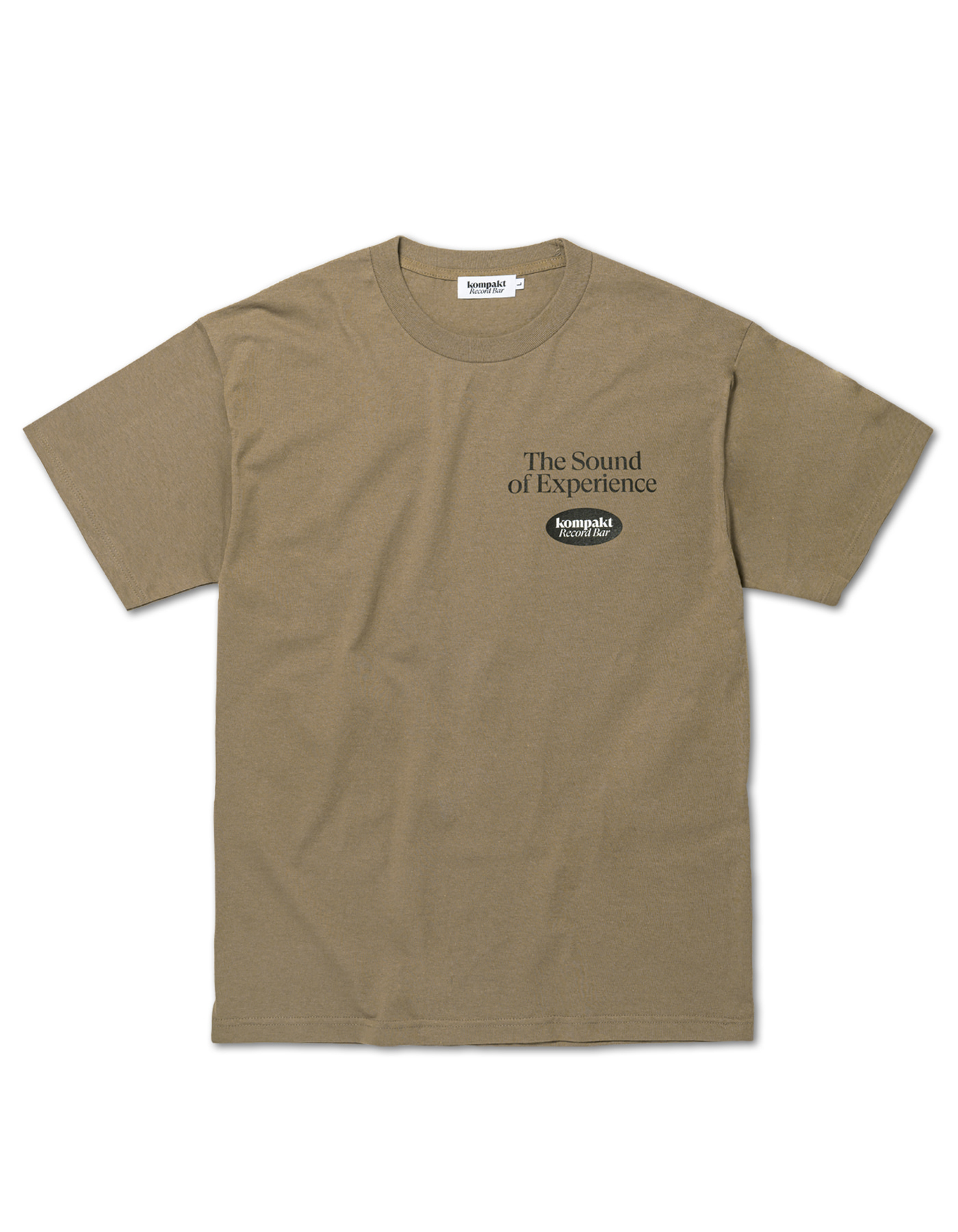 The sound of experience T-shirts - Brown