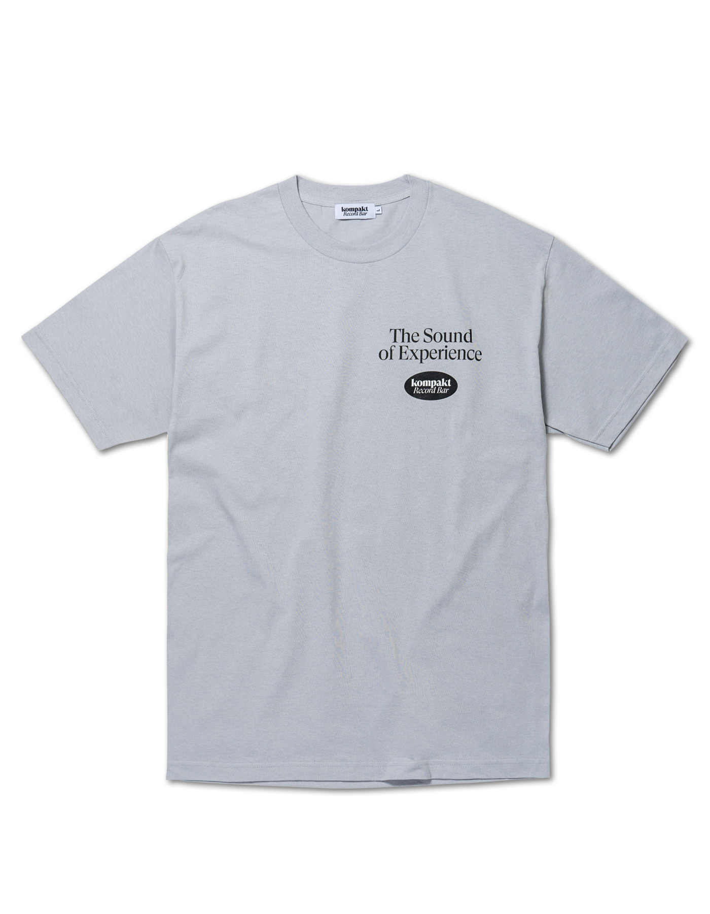 The sound of experience T-shirts - Grey