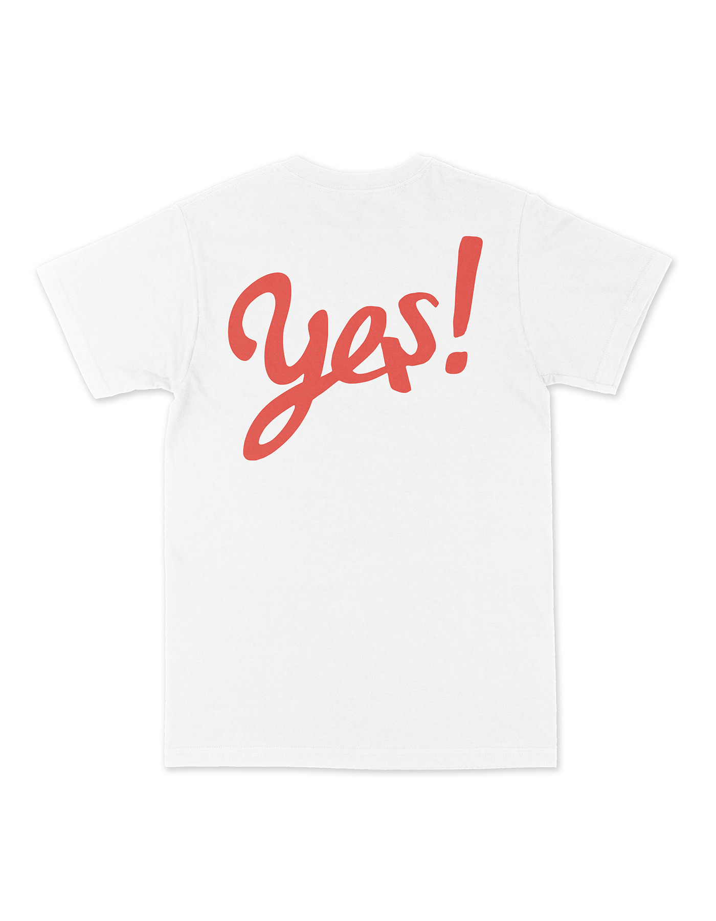 YES! T-shirts - White/Red