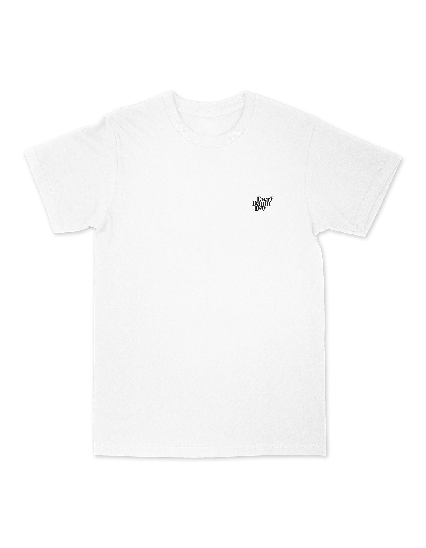 The sound of experience T-shirts - White/Black