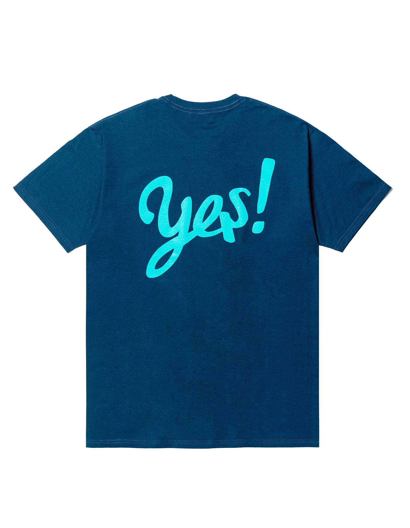 YES! T-shirts - Harbor blue/Mint