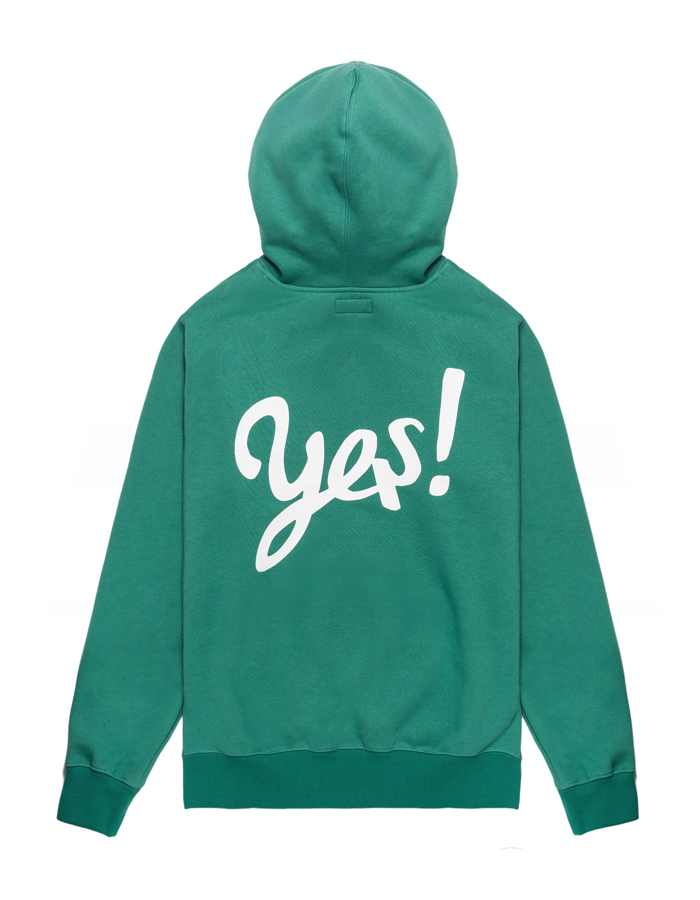 Yes! Hoodie - Green/White