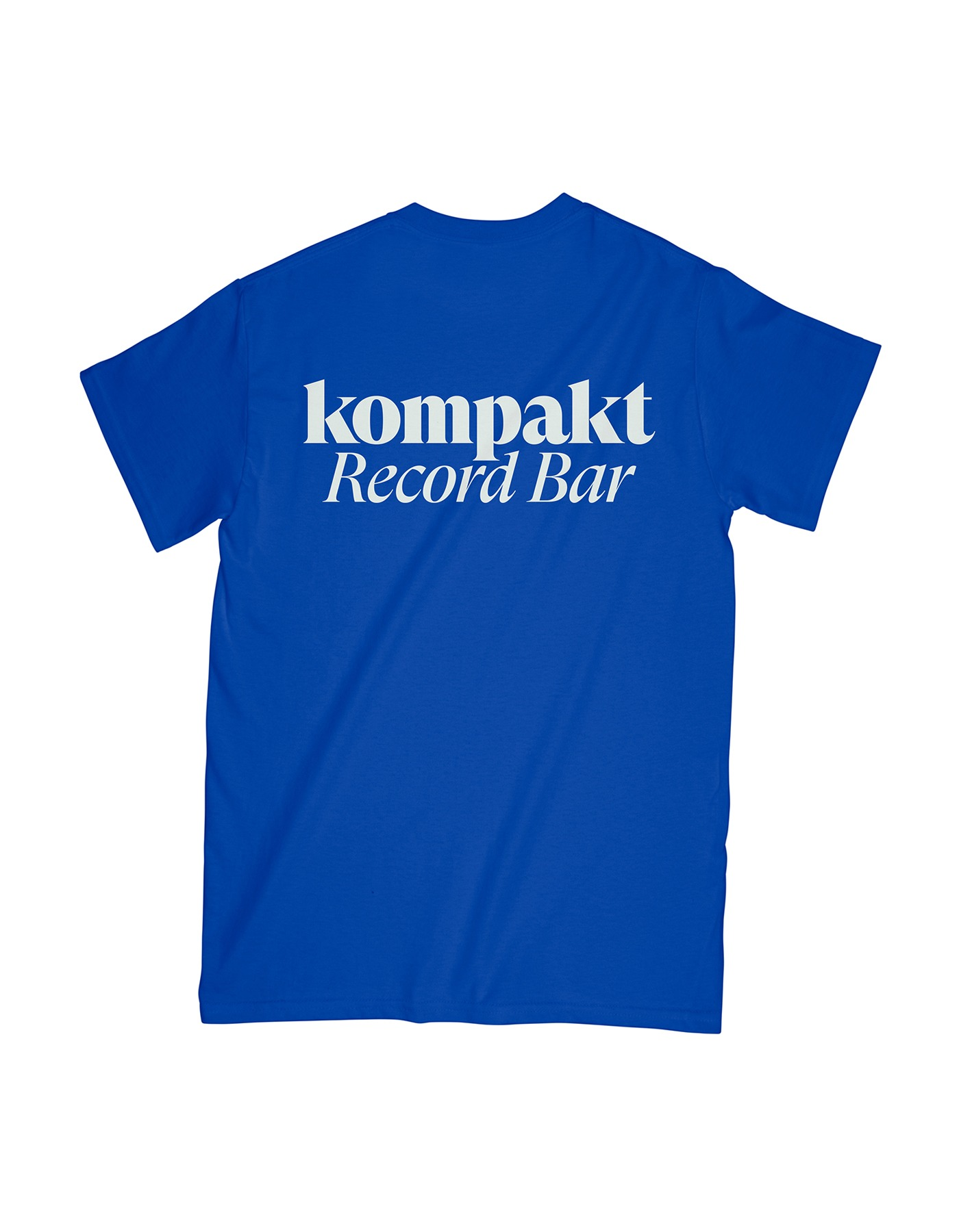 Original Logo T-shirts - Blue/White