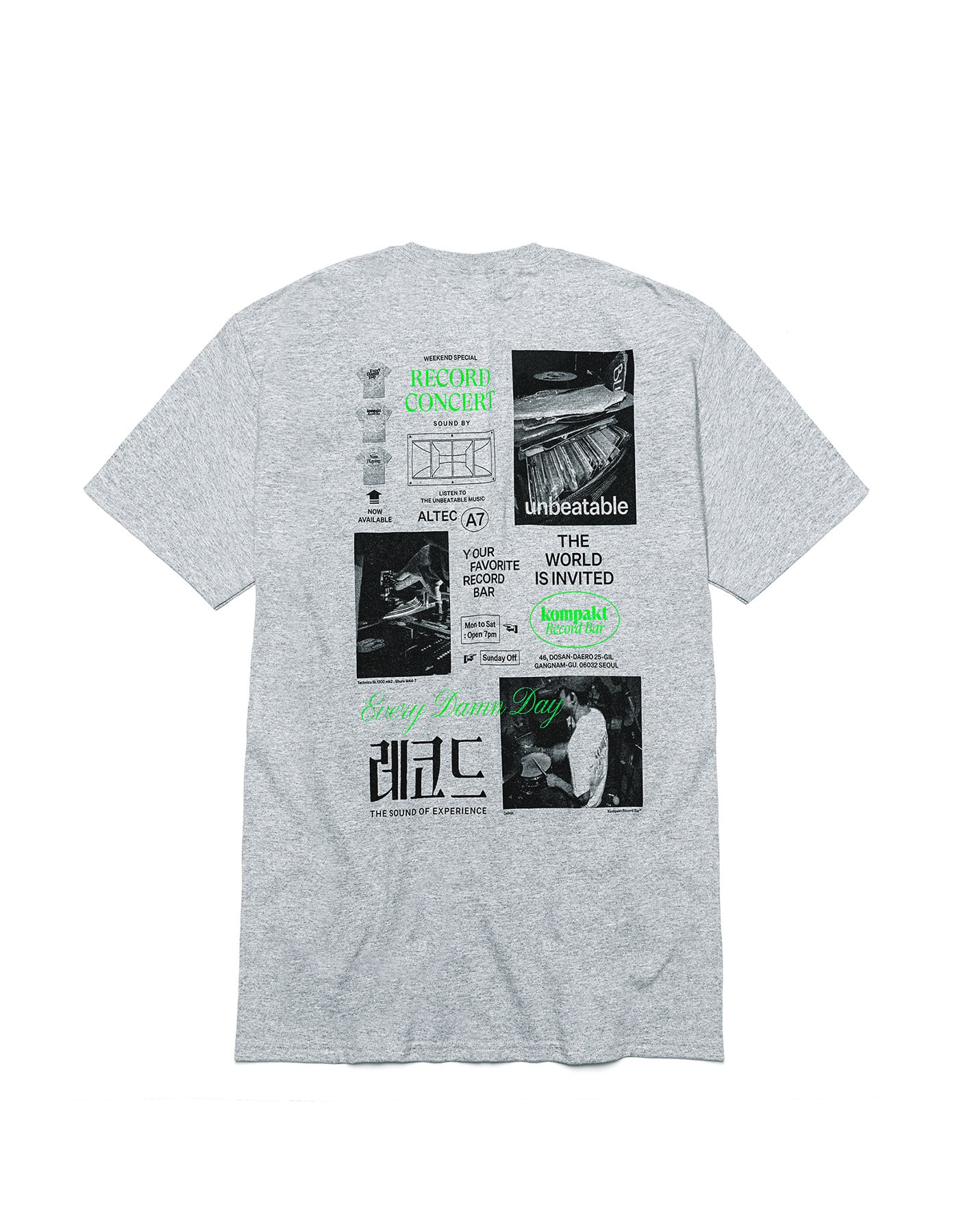 Poster Series 2 T-shirts - Grey